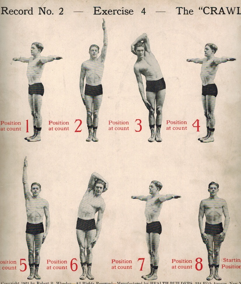 The Famous Daily Dozen Exercises | The Art of Manliness