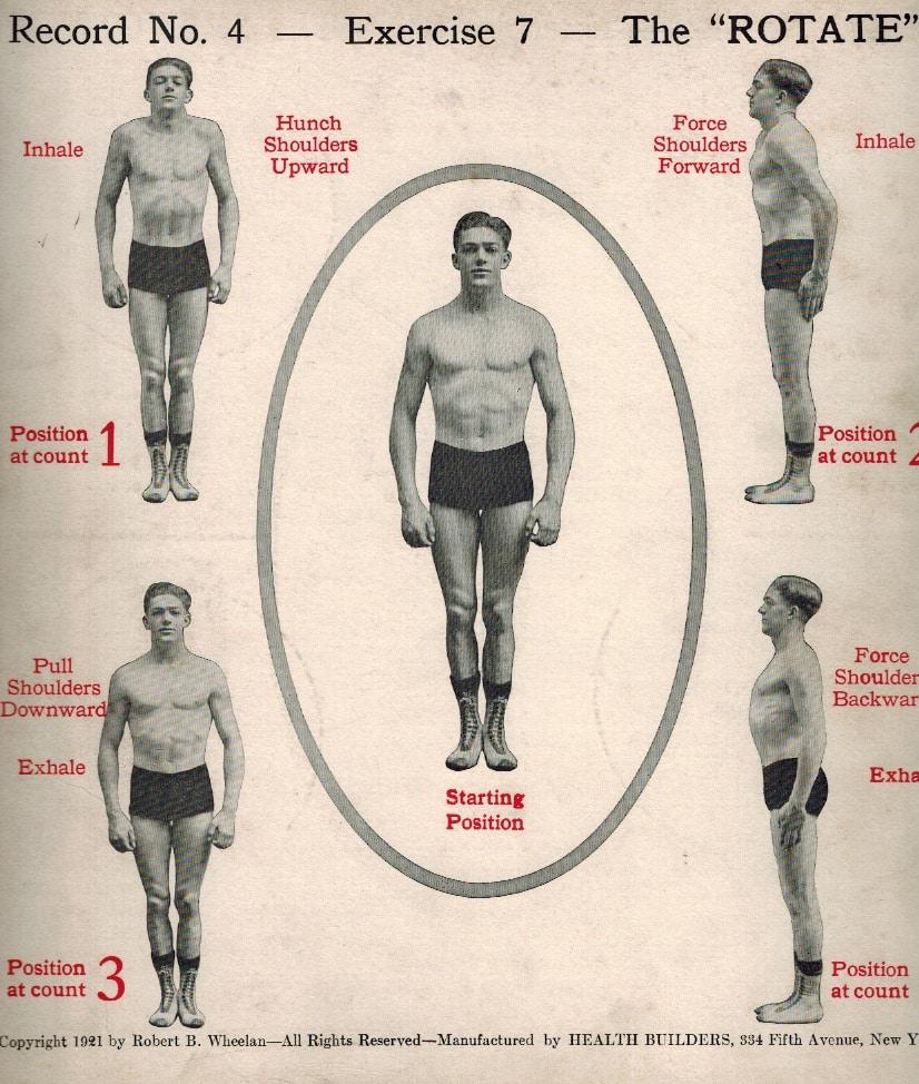 Daily dozen exercise#7: the rotate.