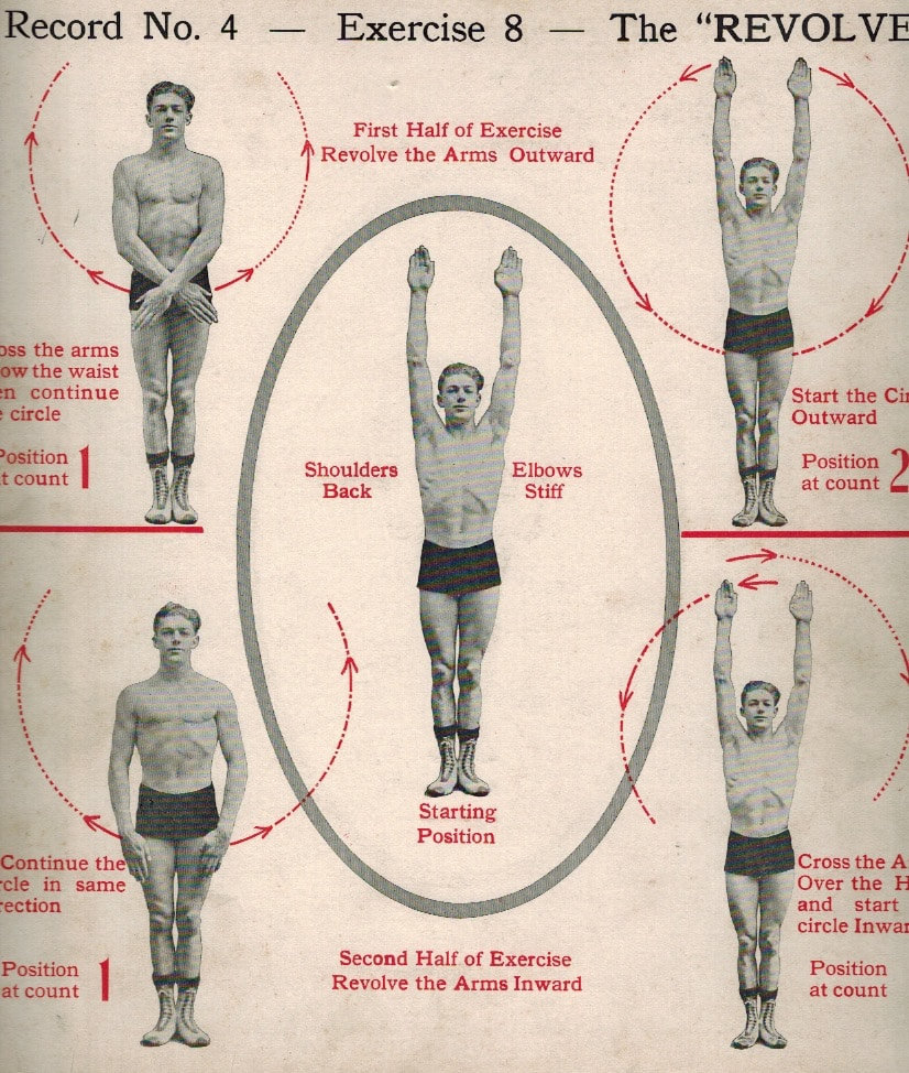 Daily dozen exercise#8: the revolve.