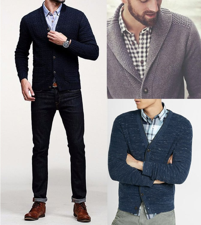 a987681628 How to Wear a Cardigan Sweater With Style