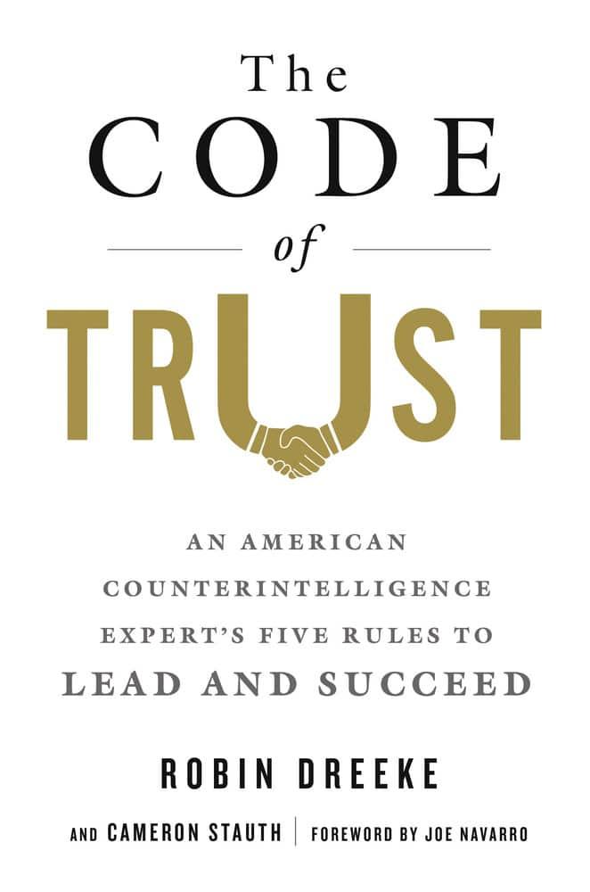 code of trust book cover robin dreeke
