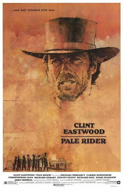 pale rider clint eastwood movie poster