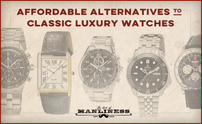Alternatives to classic luxury watches.