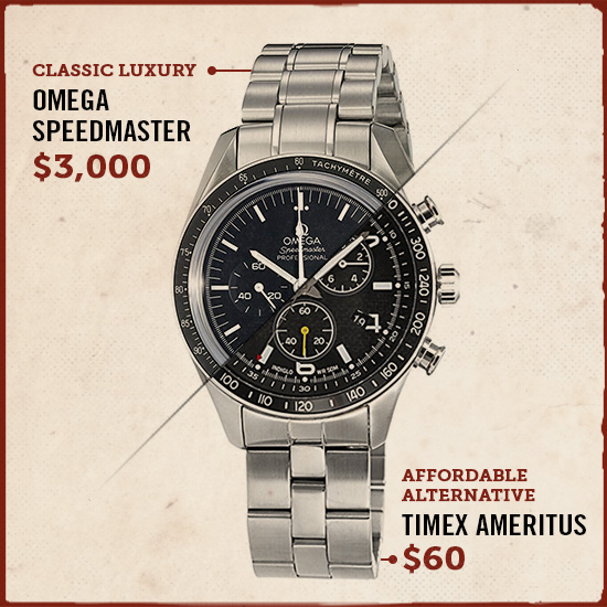 Omega speedmaster luxury watch alternative.