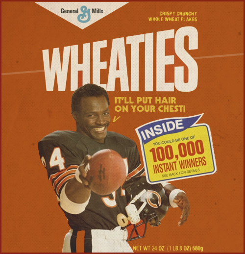 wheaties will put hair on your chest