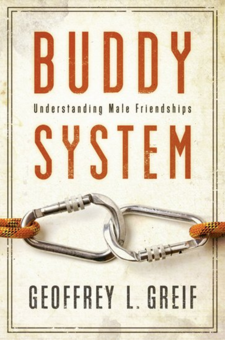 Book cover of Buddy system by Geoffrey greif.