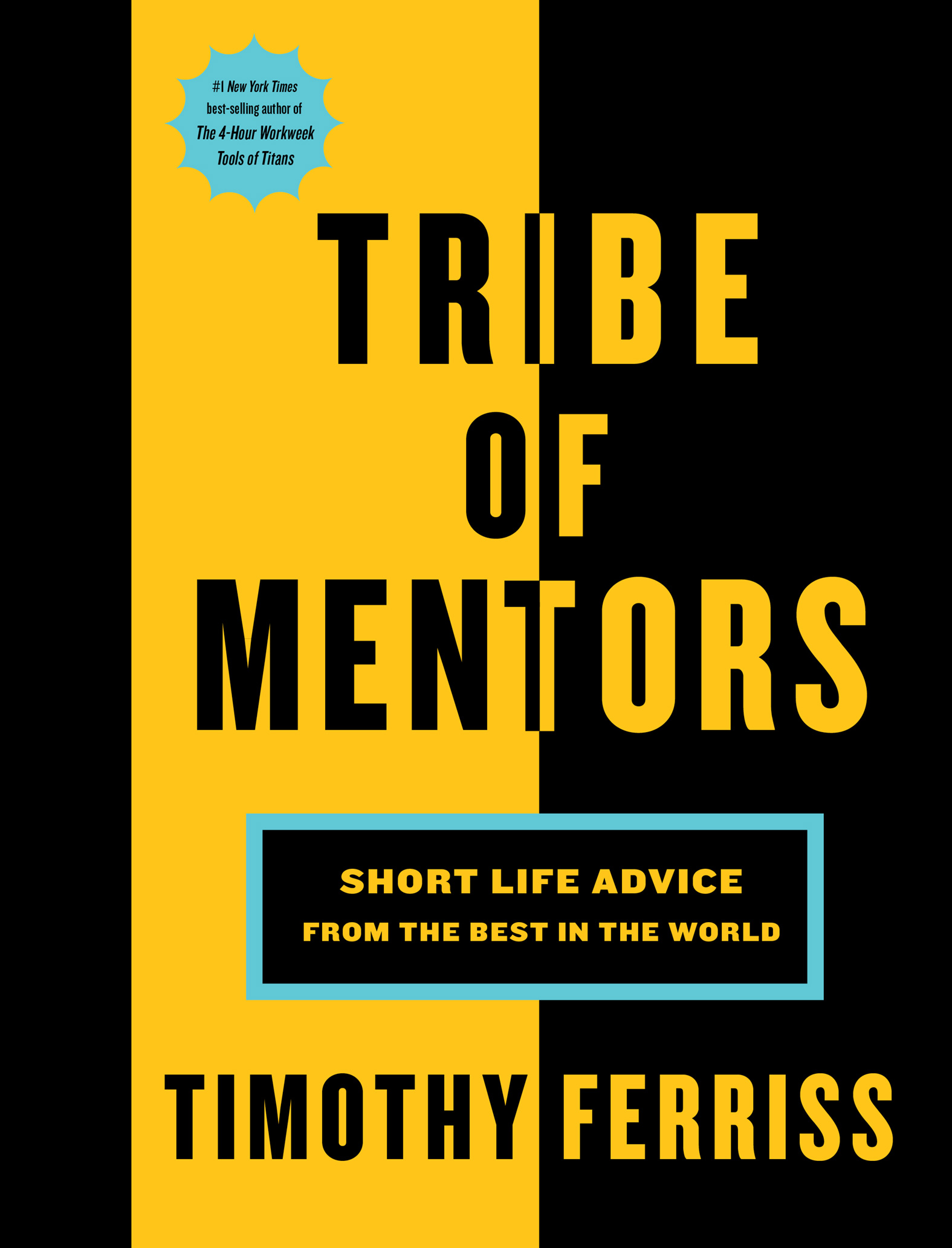 Book cover of Tribe of mentors by tim ferriss.