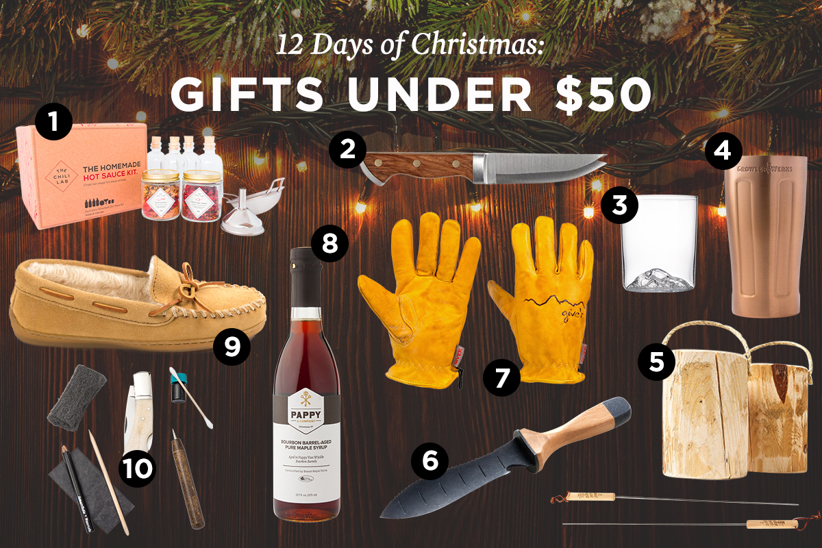 the 12 days of christmas giveaways gifts under 50 - Best Christmas Gifts Under 50
