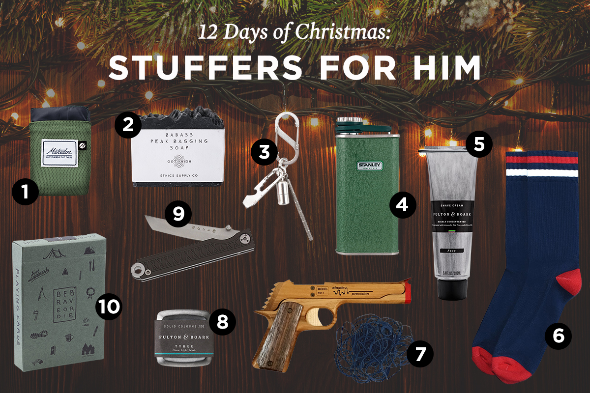 best stocking stuffers for men 2017