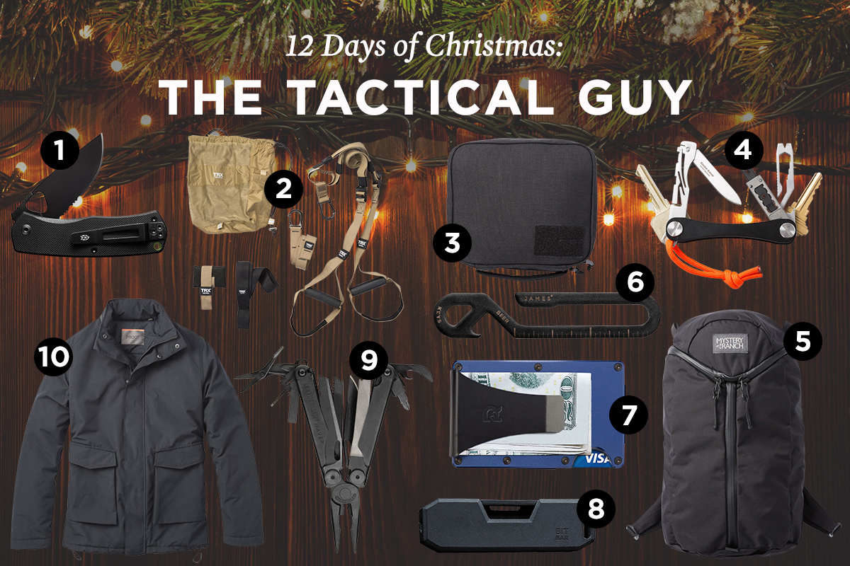 Best tactical gifts for men.