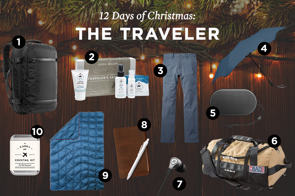 The Best Gifts for Men Who Travel A Lot | The Art of Manliness