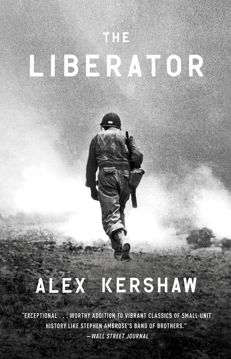 the liberator book cover alex kershaw