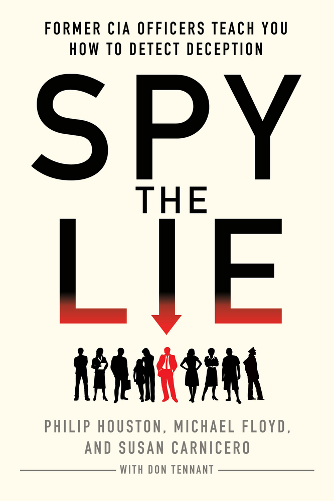 spy the lie philip houston michael floyd susan carnicero book cover