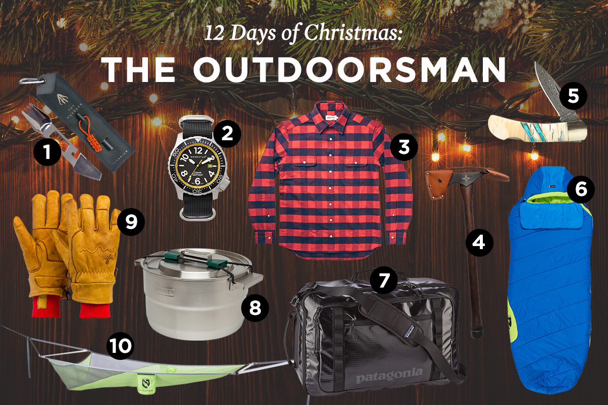 the 12 days of christmas gifts for the outdoorsman - Christmas Gifts For Outdoorsmen