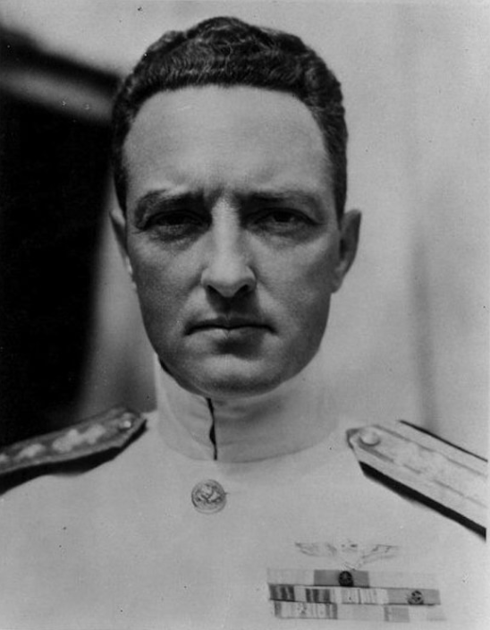 Admiral Richard Byrd's portrait.