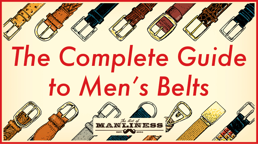 guide to men's belts