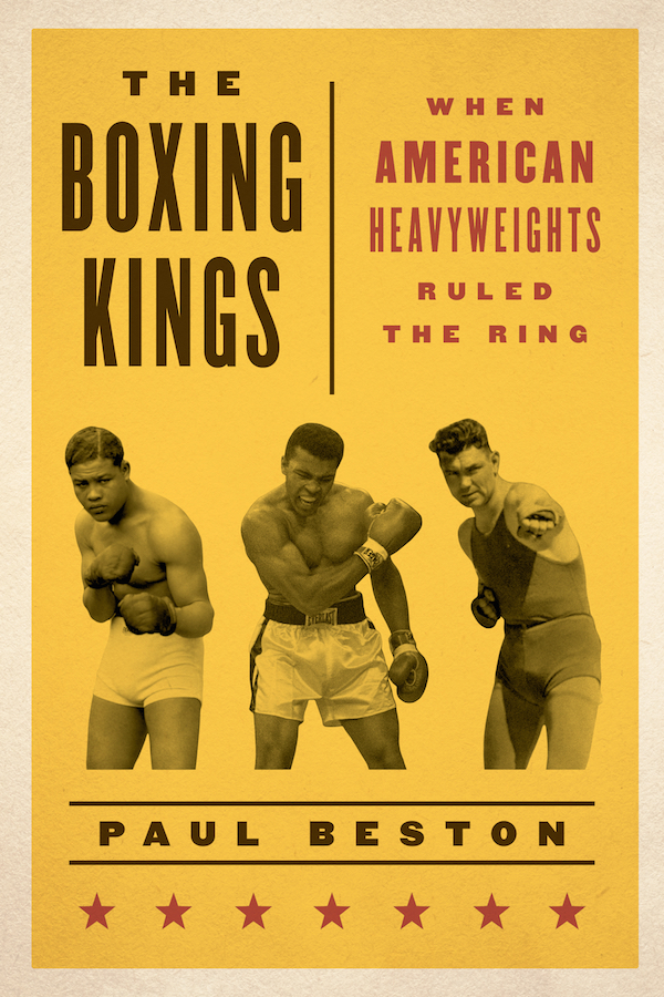 "Book cover of ""The boxing Kings"" by Paul Beston."