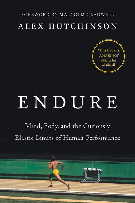 "Book cover of "" Endure"" by Alex Hutchinson."