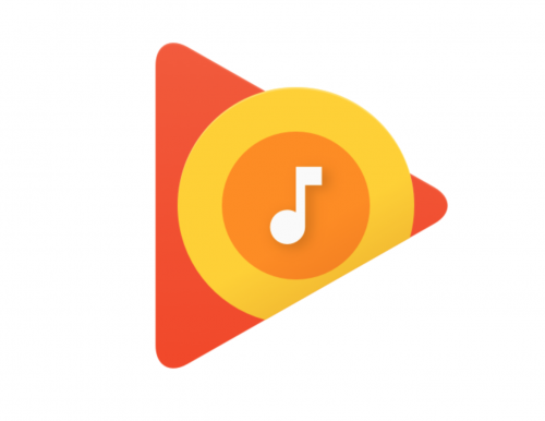 Logo of google play music app for android phone.