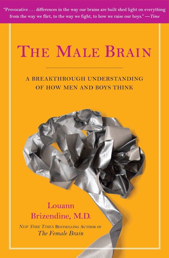 Book cover of The male brain by Louann Brizendine.