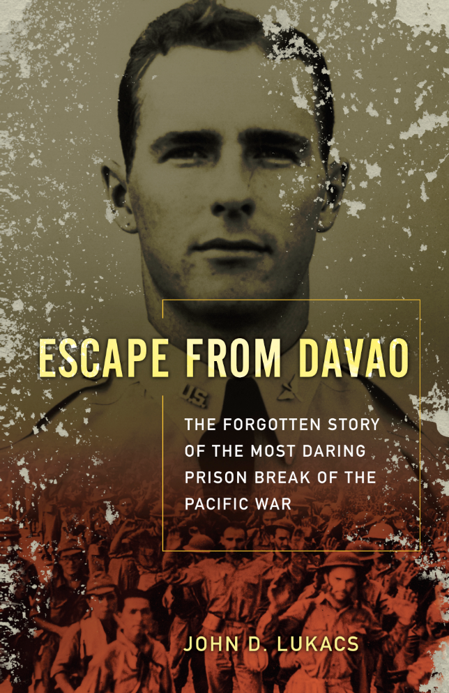 Escape From Davao by John D. Lukacs book cover.