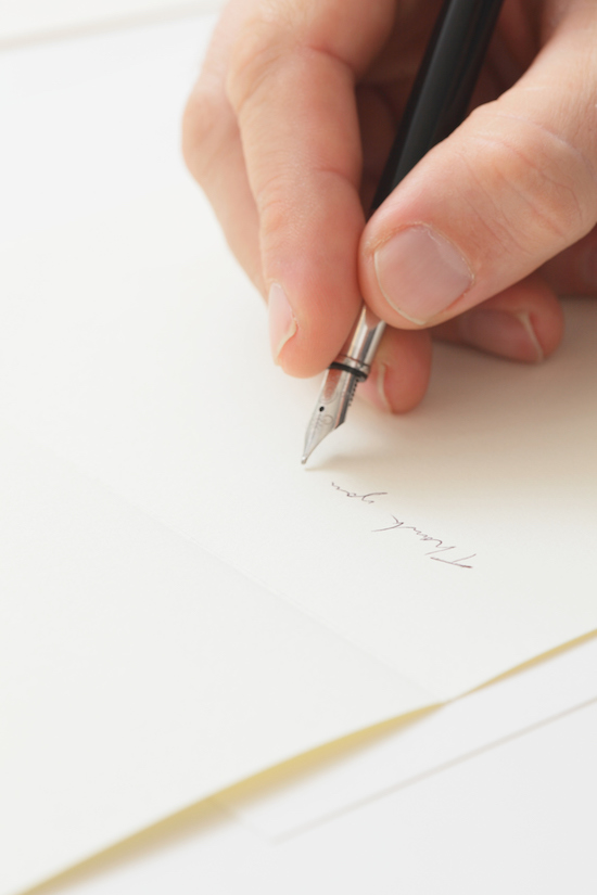 how to write a thank you note after a job interview the art of