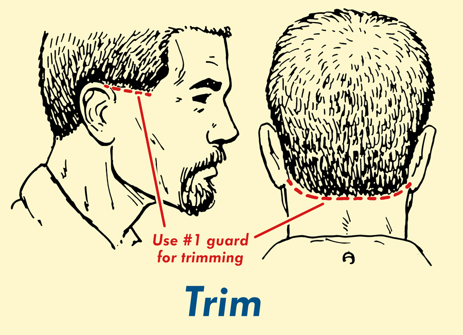 Use trim for final touch.