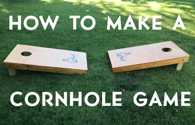 How to Make a Cornhole Game | The Art of Manliness