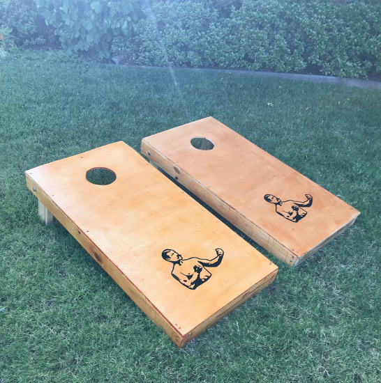 Final result of the Cornhole.