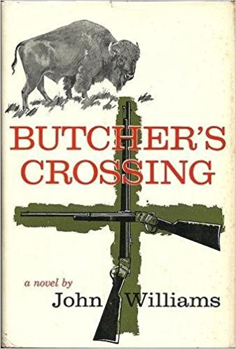 Novel cover of Butcher's Crossing by John Williams.
