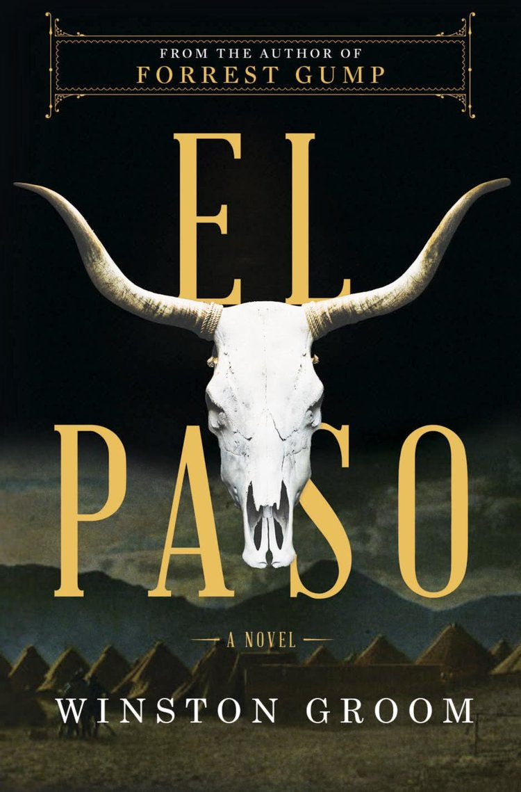 Novel cover of EL Paso by Winston Groom.