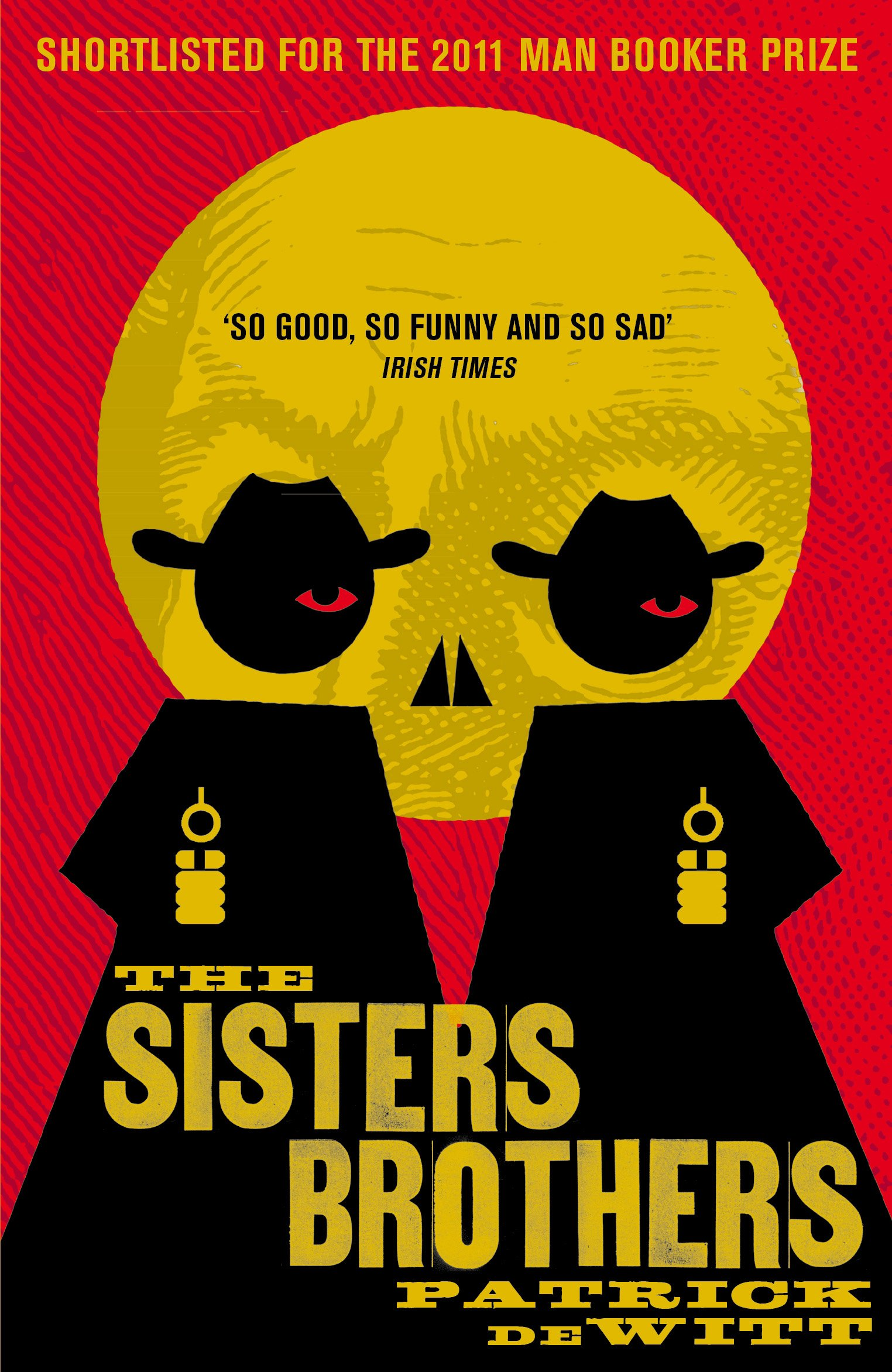 Novel cover of The Sisters Brothers by Patrick deWitt.