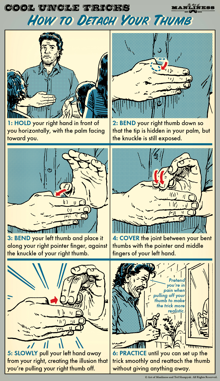 detach your thumb magic trick