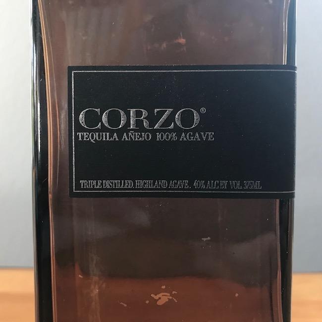 100% pure Corzo Tequila.