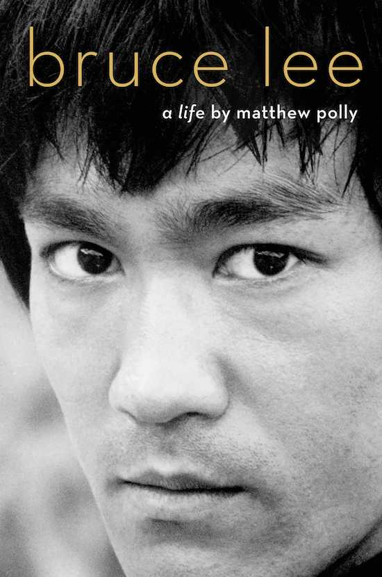 """Book cover of """"Bruce Lee"""" by Matthew Polly."""