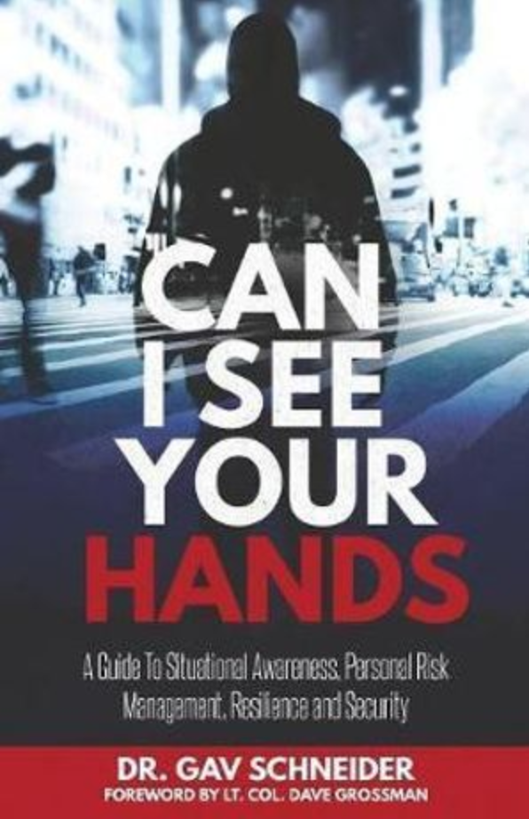 "Book cover of ""Can I see your Hands"" by Dr. Gav Schneider."