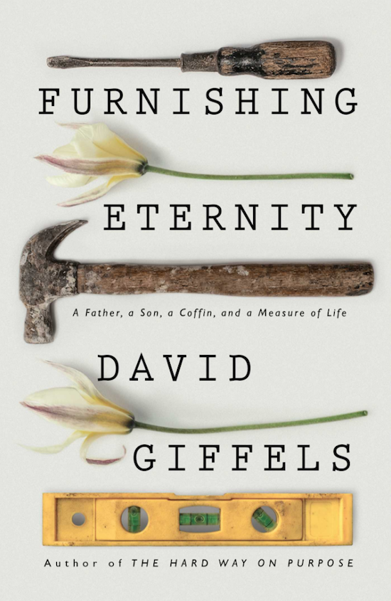 "Book cover page of ""Furnishing Eternity"" by David Giffels."