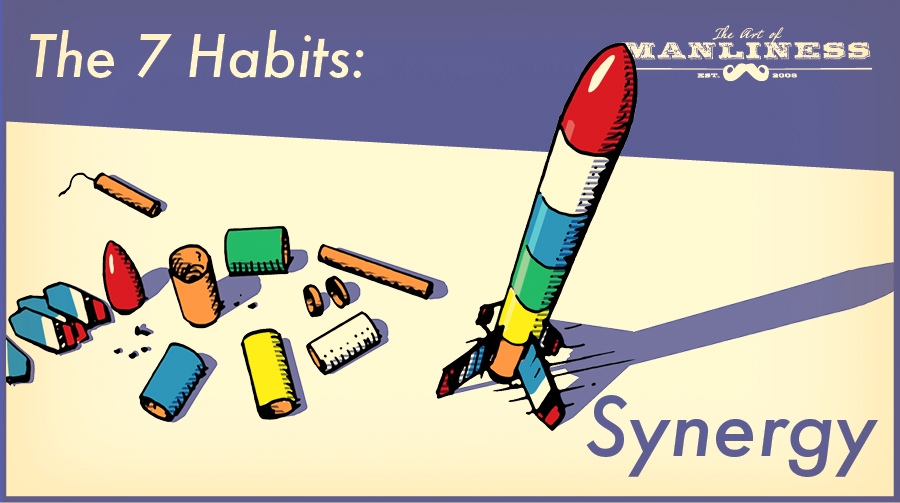 Poster by Art of Manliness about the seven habits.