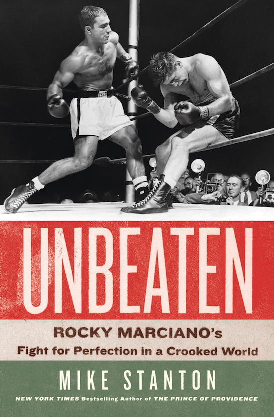 "Book cover page of ""Unbeaten"" by Mike Stanton."