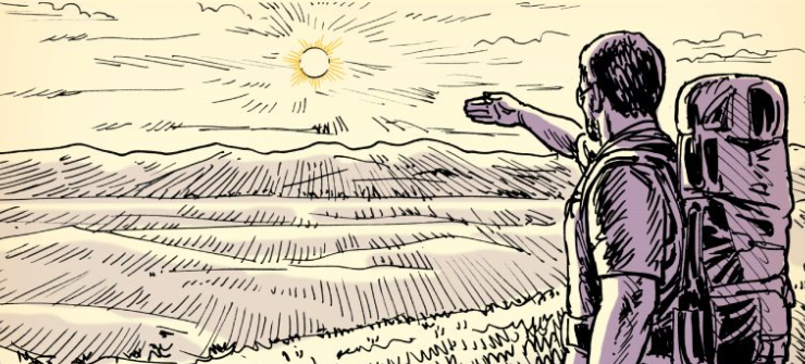 How to Measure Remaining Sunlight With Your Hands | The Art of Manliness