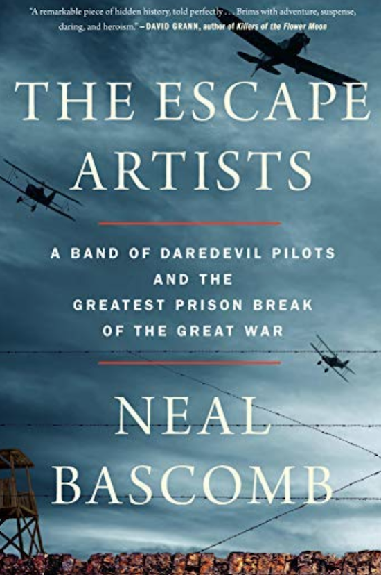 """Book cover of """"The Escape Artists"""" by Neal Bascomb."""