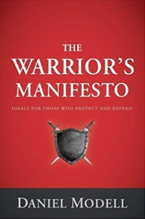 "Book cover of ""The Warrior's Manifesto"" by Daniel Modell."