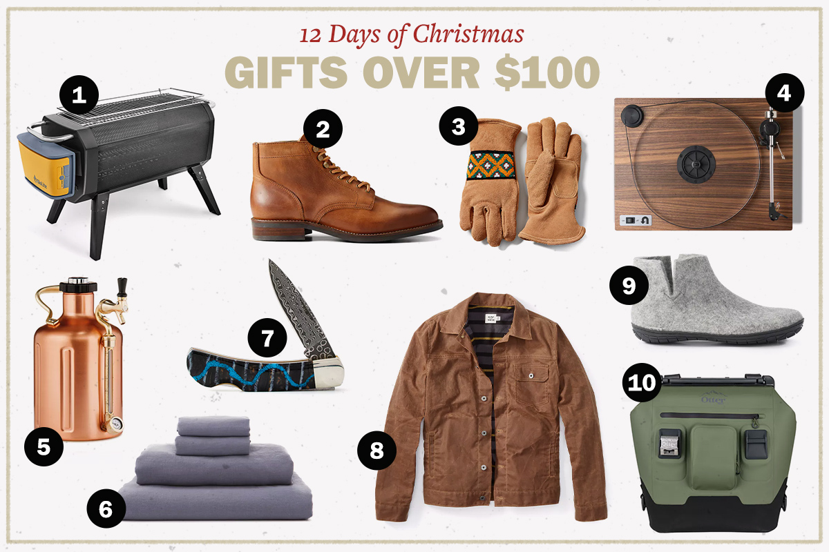 The Best Gifts for Men Over $100 | The Art of Manliness