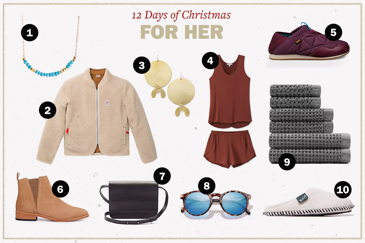 the 12 days of christmas giveaways gifts for her