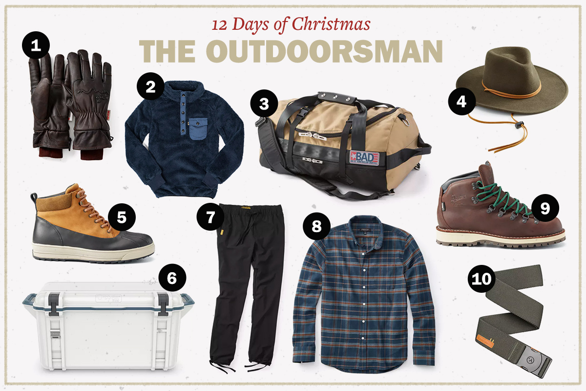 Best Gifts for the Outdoorsy Man | The Art of Manliness
