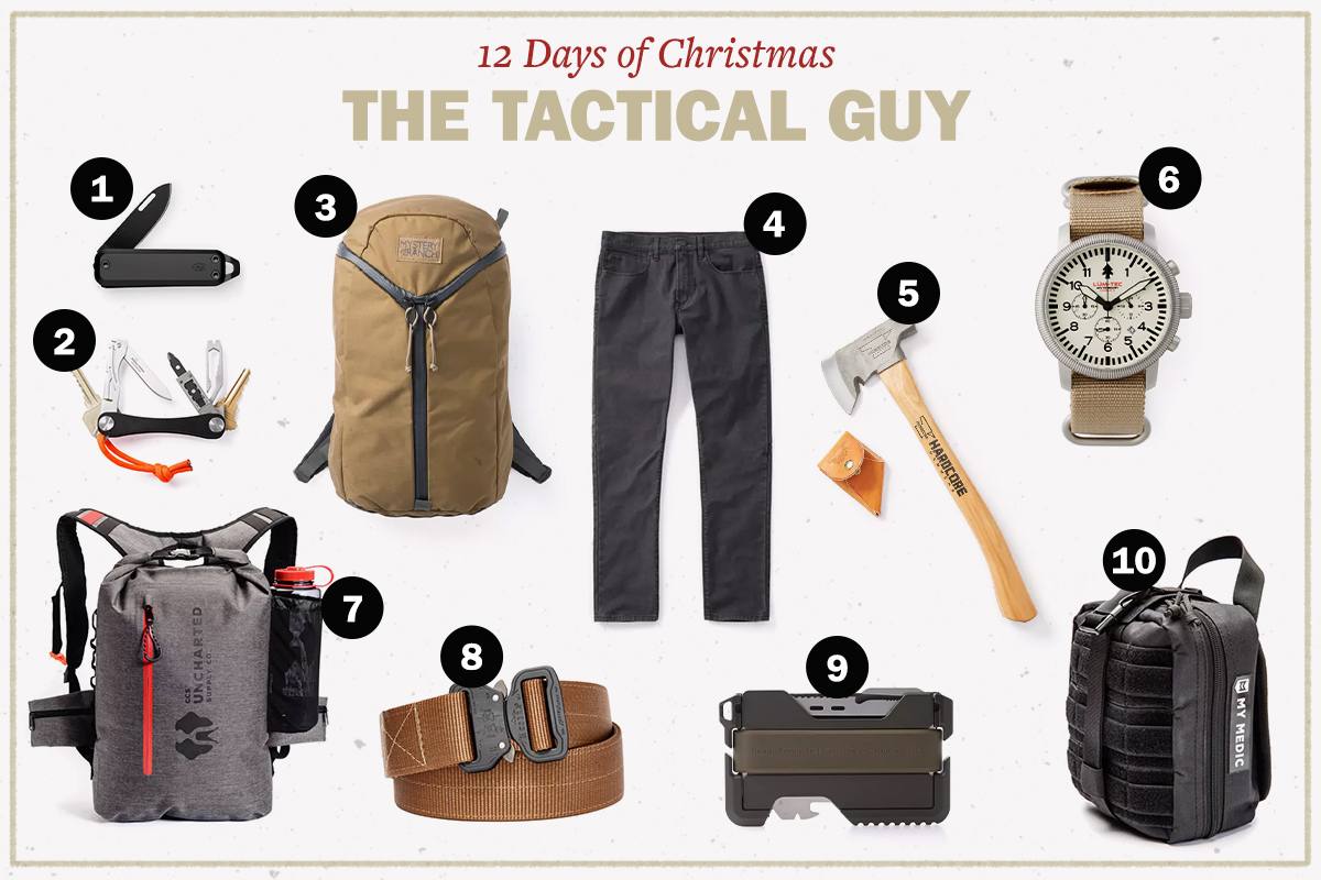 The 12 Days of Christmas Giveaways: Gifts for the Tactical Guy | The ...