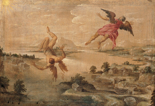 """""""Icarus's Fall"""" a civic collection of ancient art."""