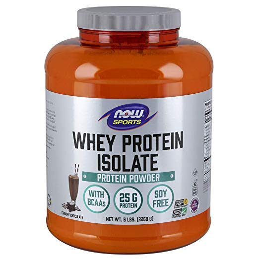 Whey protein isolate protein powder by now sports.