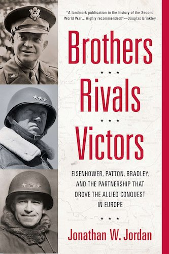 Brothers, Rivals, Victory by Jonathan W. Jordan book cover.