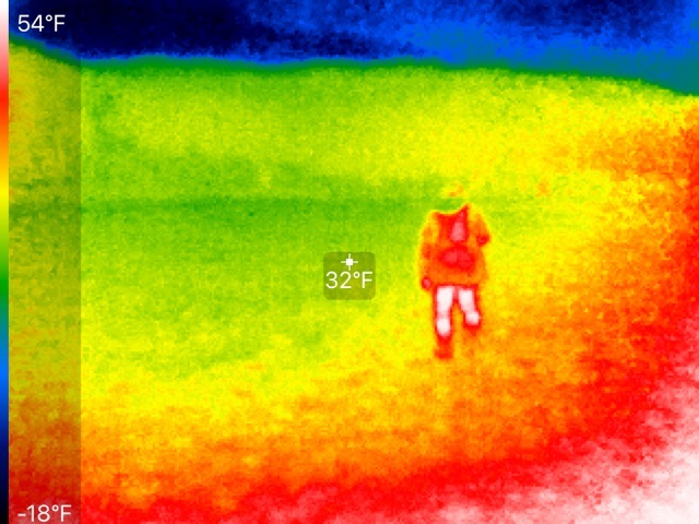 Infrared searching.